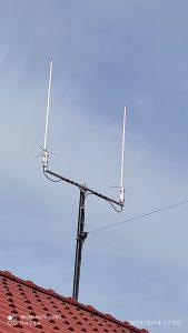 Alle Antennen des i57 WebSDRs